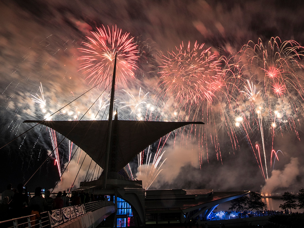 Explosive July 3rd Experience at the Milwaukee Art...