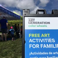 Kohl's Color Wheels at Summerfest