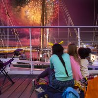 July 3rd Fireworks at Discovery World