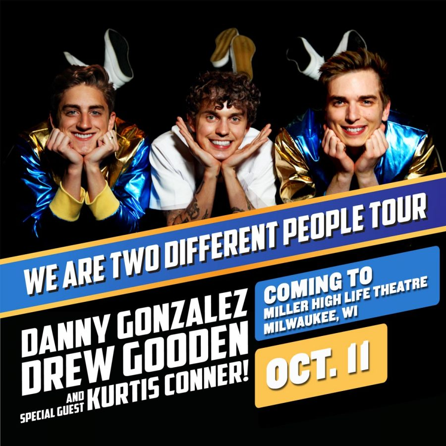 We Are Two Different People Tour starring Danny Gonzalez &Drew Gooden w/ special guest Kurtis Conner