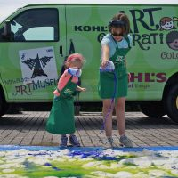 Kohl's Color Wheels at Fawn Fest