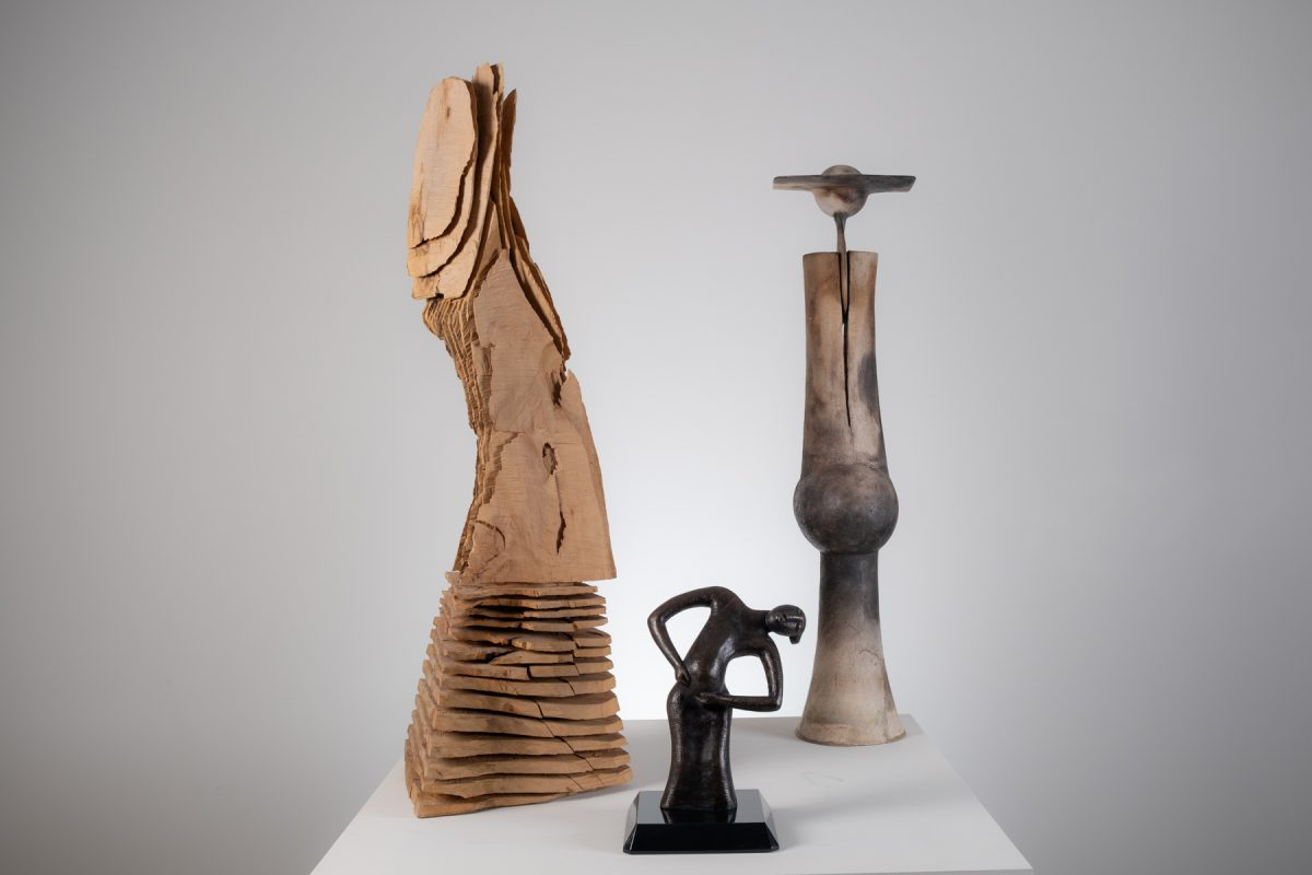 The Warehouse presents: Carve, Cast, and Coil International Sculpture from the Permanent Collection