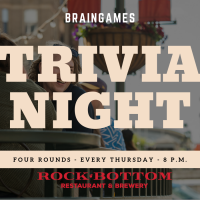 Trivia Night at Rock Bottom