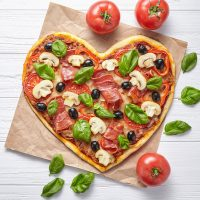Get Lucky on Friday the 13th! Take and Bake Pizza Class Mixer