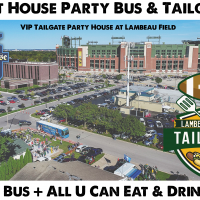 Packers vs Texans - Party Bus to Green Bay from the Milwaukee Brat House
