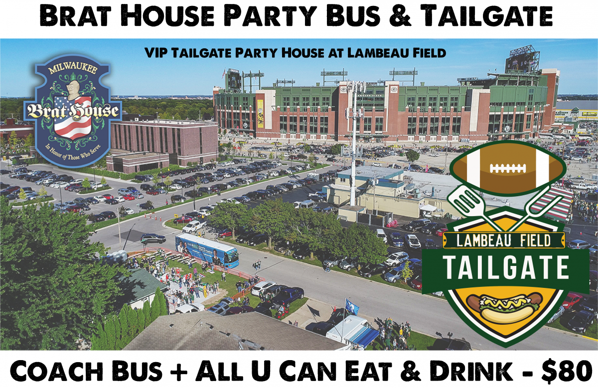 Packers vs Chiefs - VIP Tailgate Party & Coach...