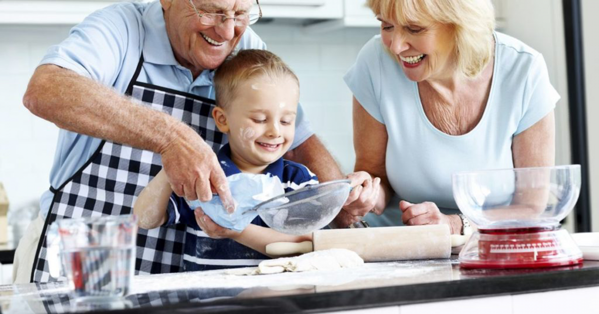 Cooking with Grandparents – Grandparents & K...