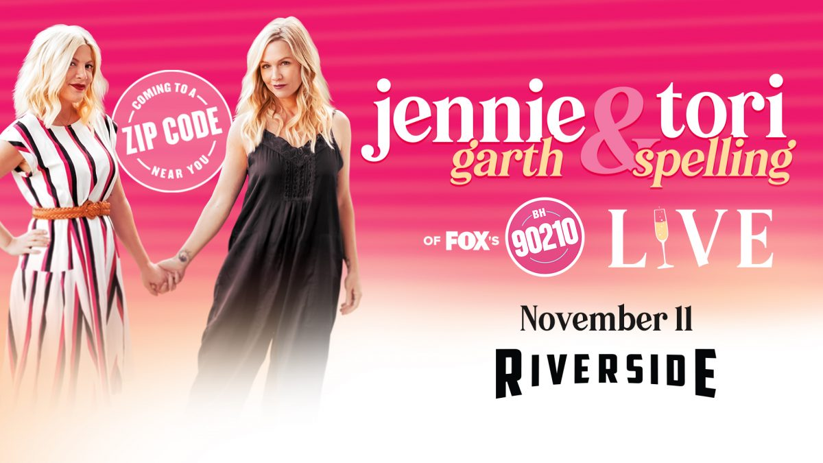 Jennie Garth & Tori Spelling Live at the Riverside Theater