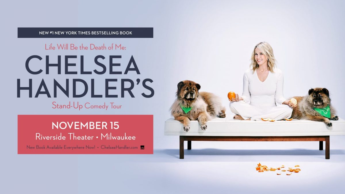 Chelsea Handler at the Riverside Theater