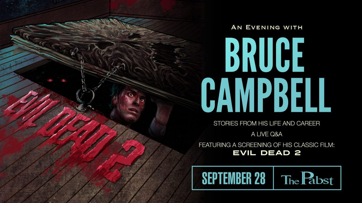 Bruce Campbell at the Pabst Theater