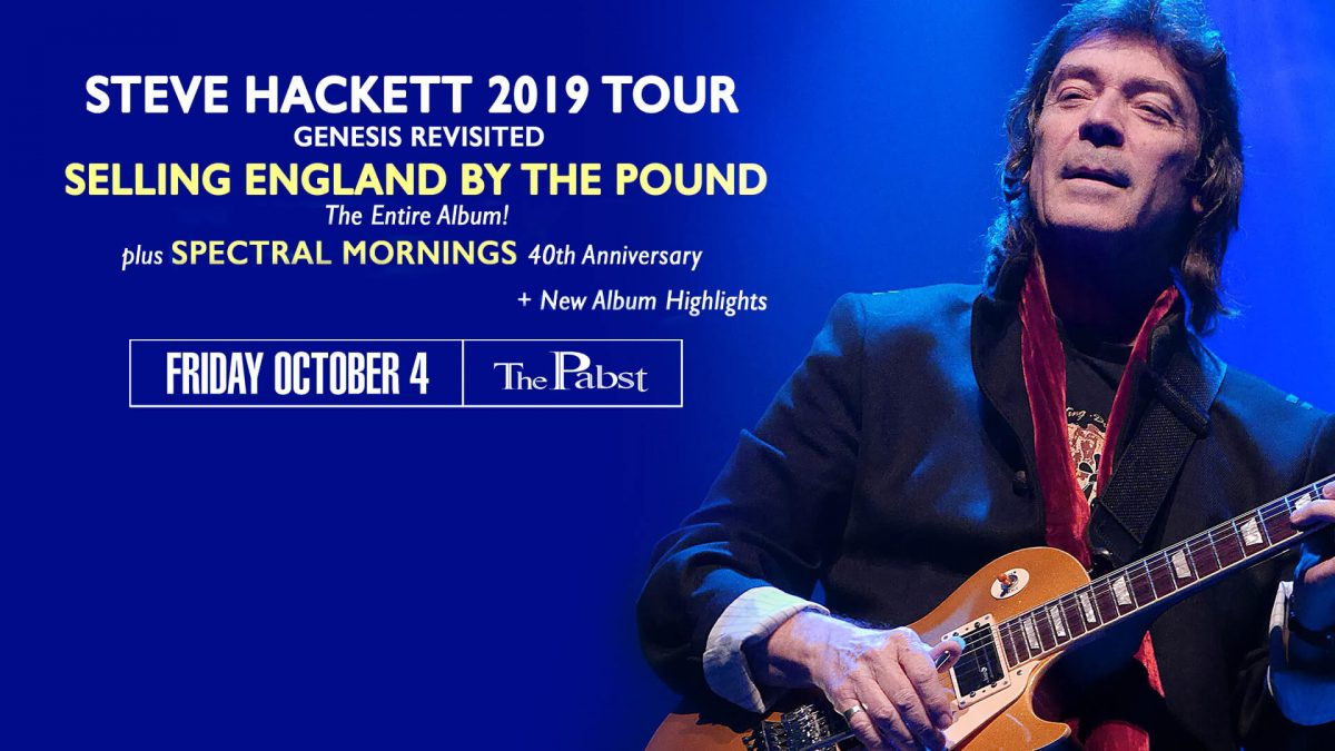 Steve Hackett Genesis at the Pabst Theater