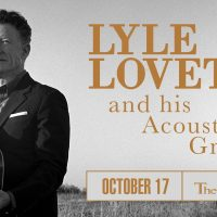 Lyle Lovett at the Pabst Theater