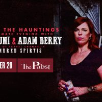 Behind the Hauntings: Amy Bruni and Adam Berry at the Pabst Theater