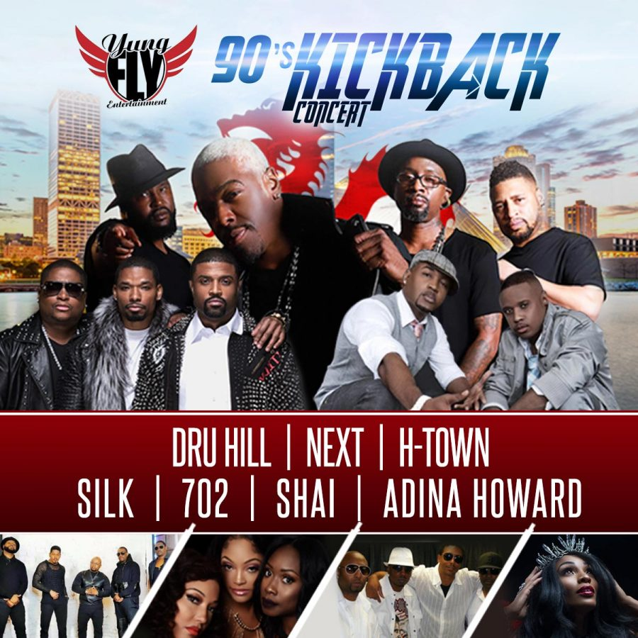 90S Kickback Concert starring Dru Hill, Next, H-To...