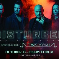 Disturbed: Evolution Tour with In This Moment