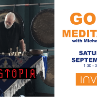 Gong Meditation with Michael Bettine of Gongtopia