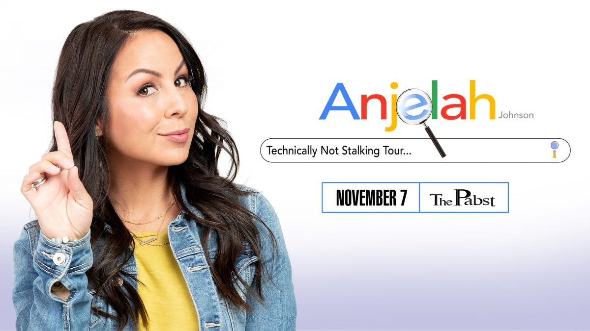 Anjelah Johnson at the Pabst Theater