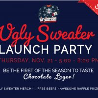 Miller Lite Ugly Sweater Launch Party