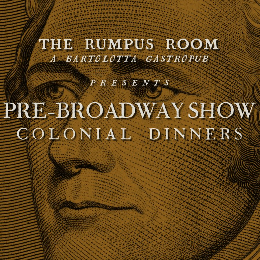 Pre-Broadway Show Colonial Dinners