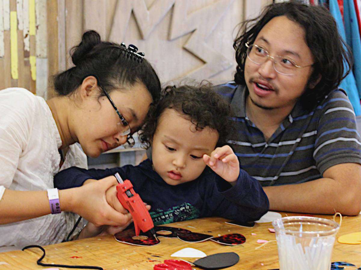 Be A Maker: Parent Studio