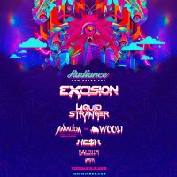 Radiance NYE starring Excision with Liquid Stranger, Wooli b2b Marauda, He$h, Calcium and Vampa