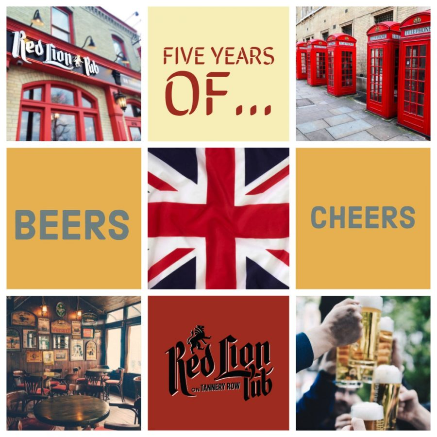 Red Lion Fifth Anniversary
