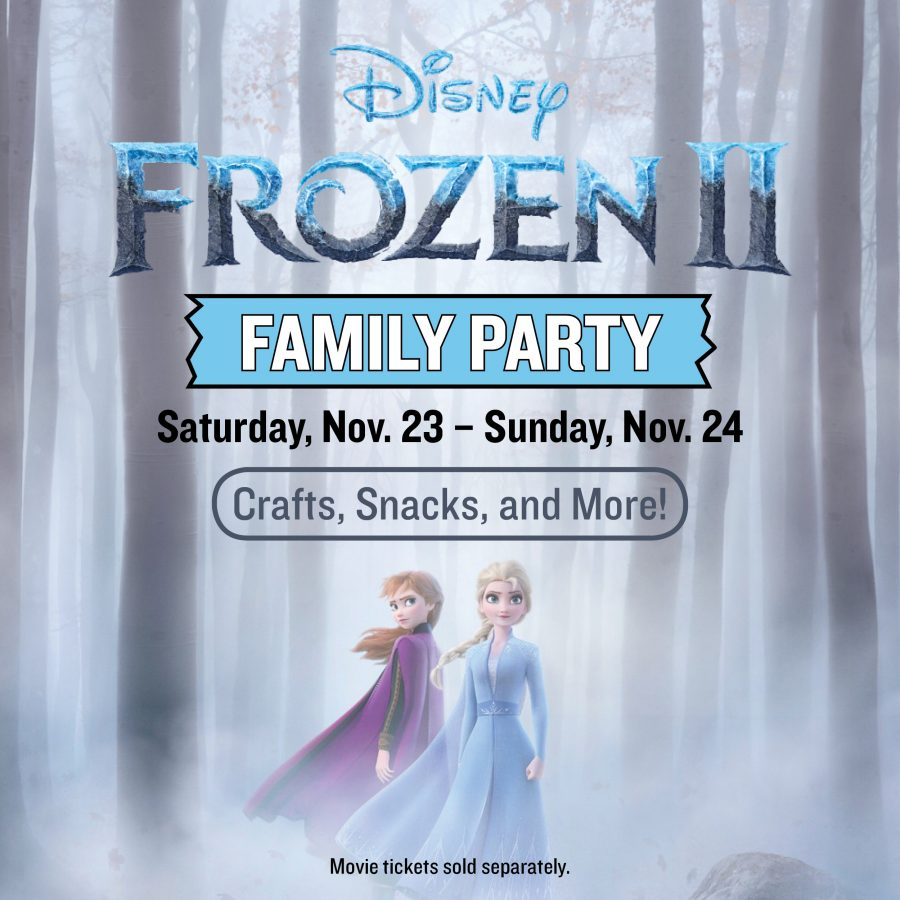"Free ""Frozen 2"" Party at Marcus Theatres"