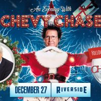 An Evening with Chevy Chase at the Riverside Theat...