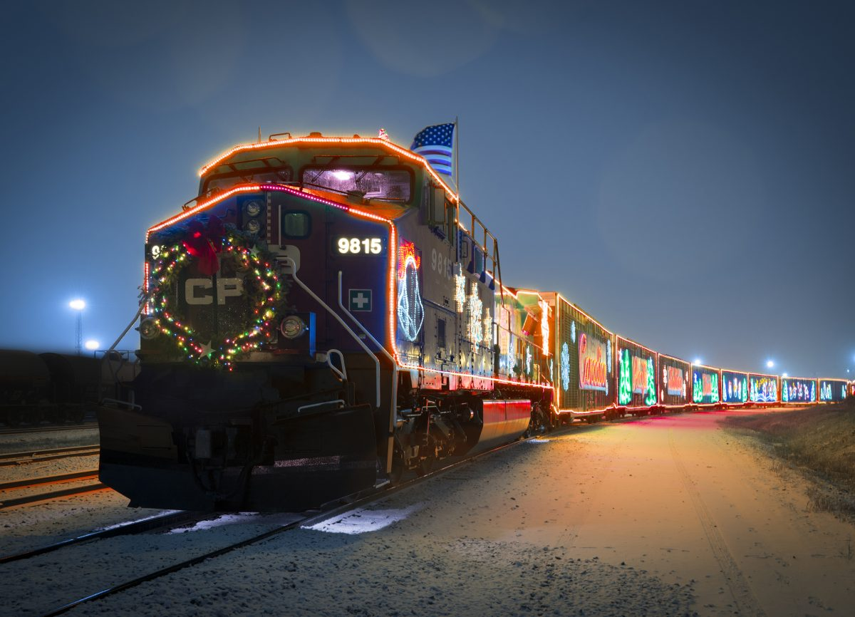 CP Holiday Train - All Aboard For Tosa Cares