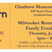 Milwaukee Museum Week Evening Special Event
