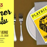 Saz's Dinner and a Show - The Lion King