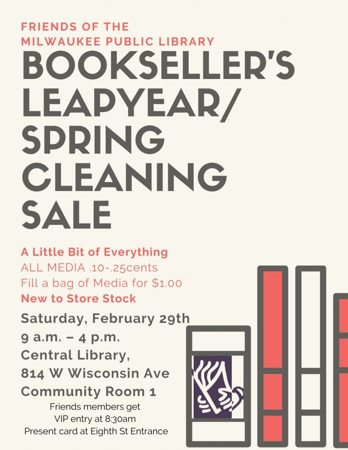 Bookseller's Leapyear/Spring Cleaning Sale