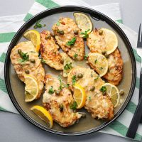 An Afternoon in Campania: Chicken Piccata - April