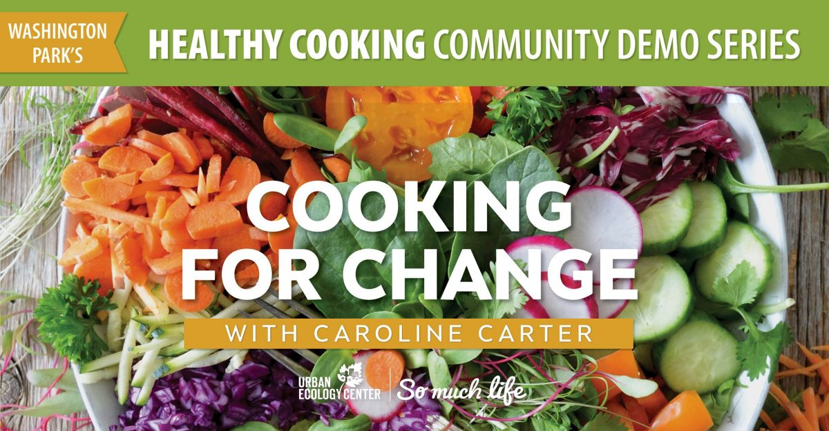 Cooking for Change with Plant-Based ingredients