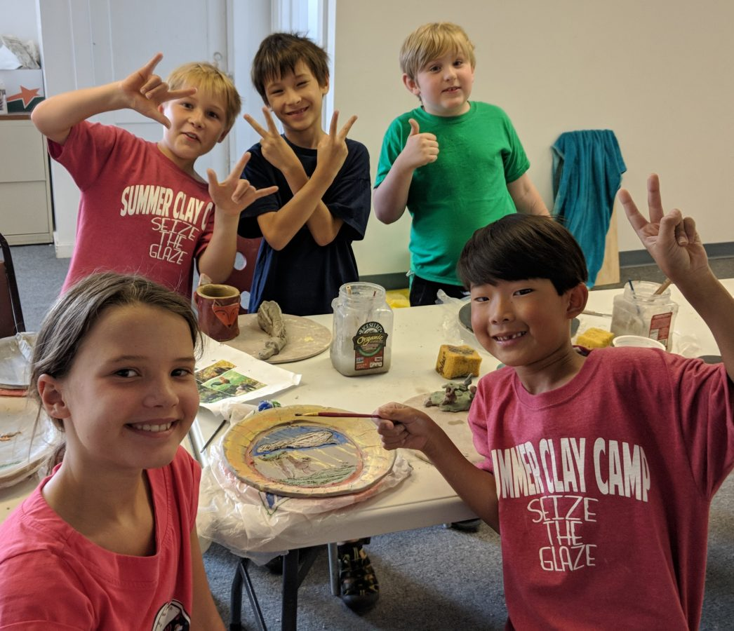 Clay Camp Wk 3 Kitchen Creations: