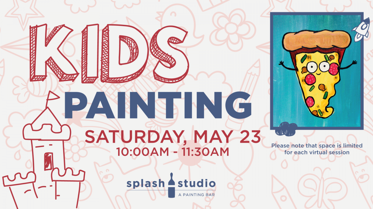 Live Kids Painting Session: Wanna Pizza This