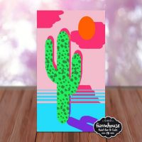 Sunny Cactus - LIVE Virtual Paint and Sip - Step b...