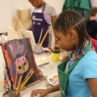 Milwaukee Art Museum Online Summer Camp: Painting the Abstract