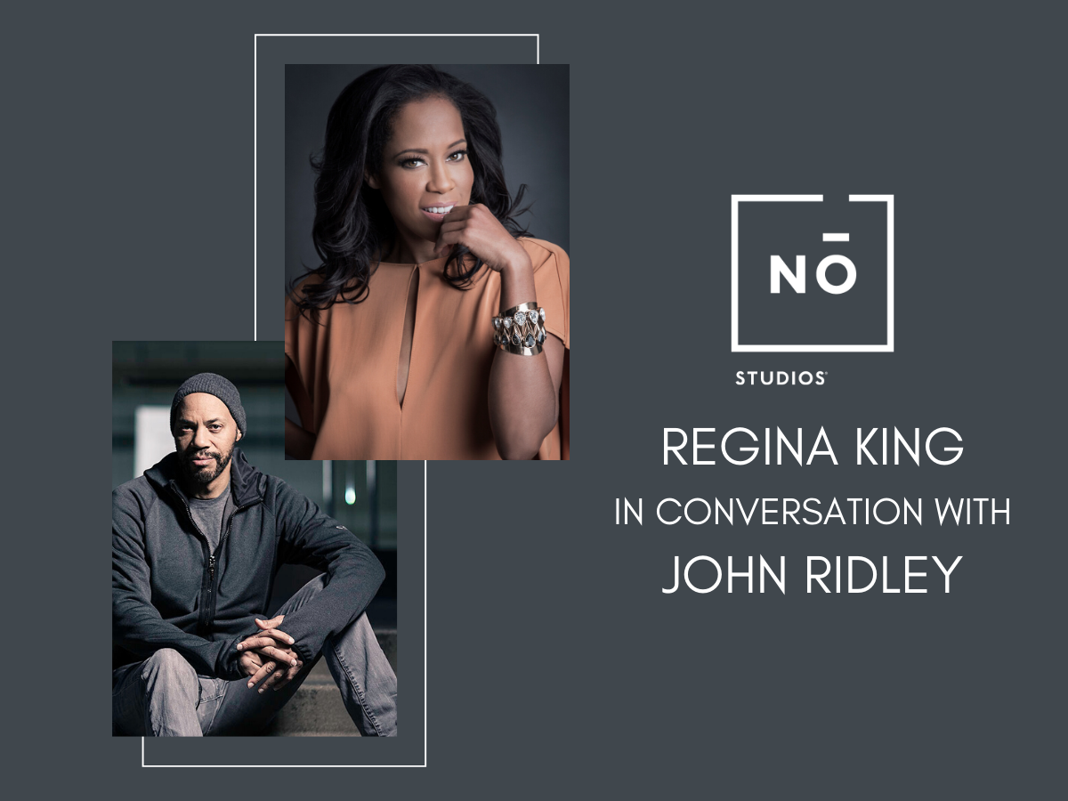 Regina King In Conversation with John Ridley