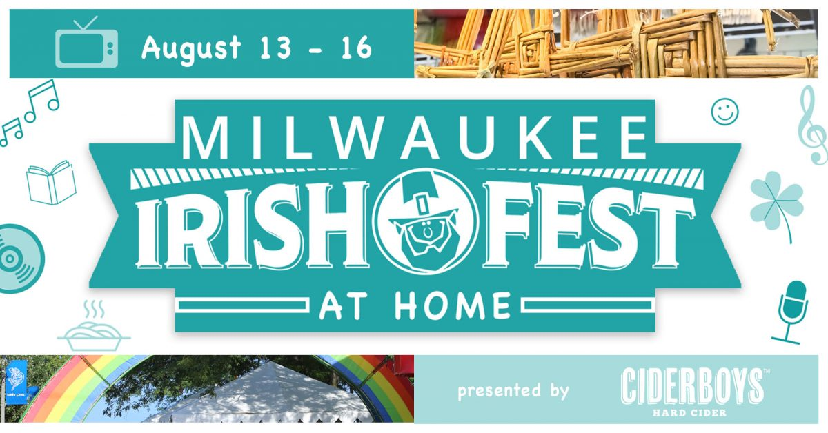 Milwaukee Irish Fest At Home | Live Stream Program...
