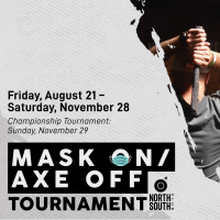 Mask On | Axe Off Tournament
