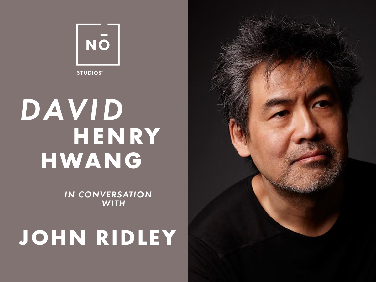 *David Henry Hwang in Conversation with John Ridle...