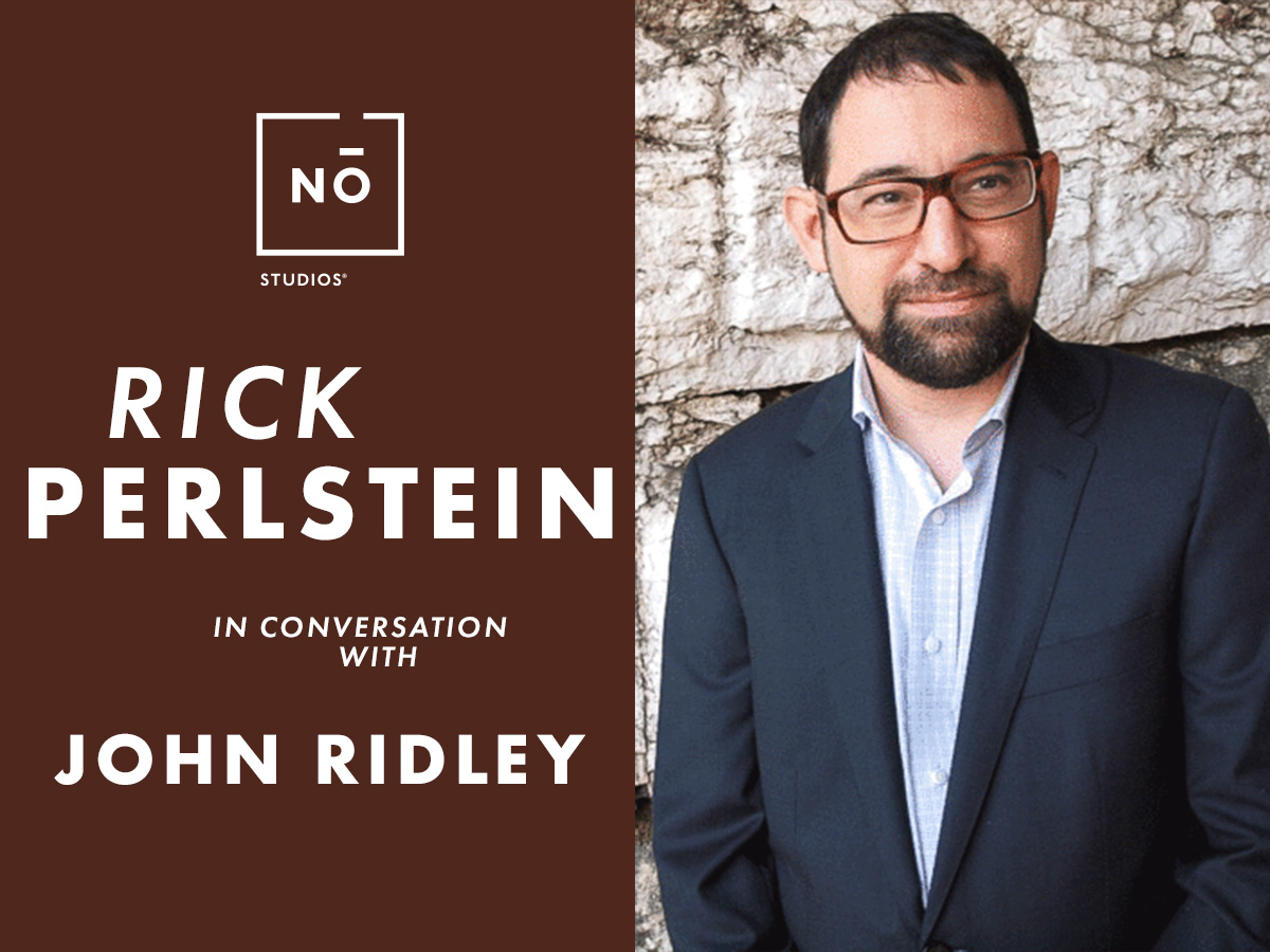 *In Conversation with John Ridley: Author Rick Per...