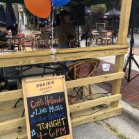 The Downer Parklet Music Series