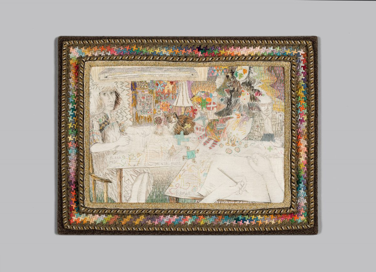 In Stitches: Contemporary Approaches to Needlework
