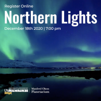Planetarium Show: Northern Lights (Virtual)