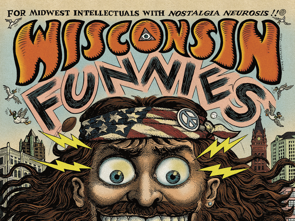 Wisconsin Funnies Exhibition at Saint Kate