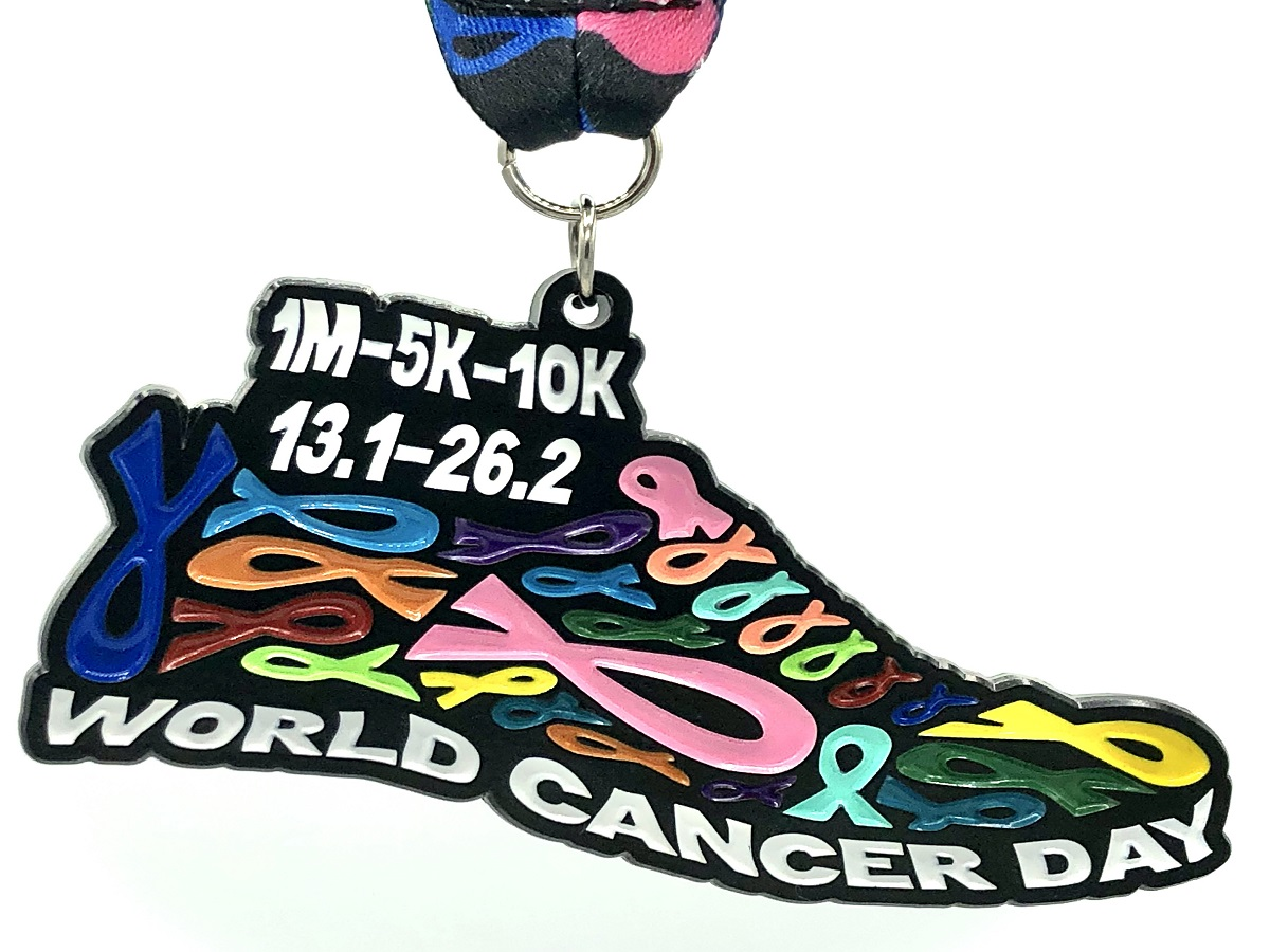 World Cancer Day 1M 5K 10K 13.1 26.2 - Participate from Home!