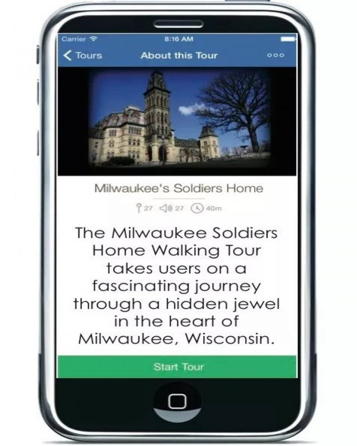 Milwaukee Soldiers Home Self-Guided Walking Tour