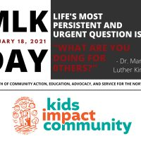 MLK Virtual National Day of Service Event (all ages)